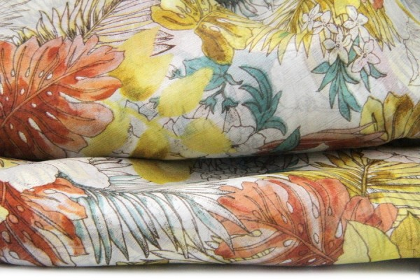 Madras Silk Scarf