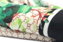 Châle étole en laine cachemire pour mariage avec fleurs et franges