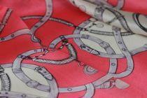 Foulard classique motif cheval