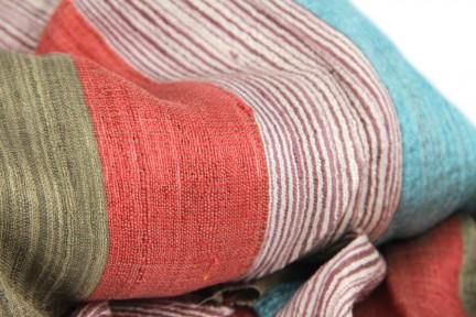 Foulard en soie de grande taille