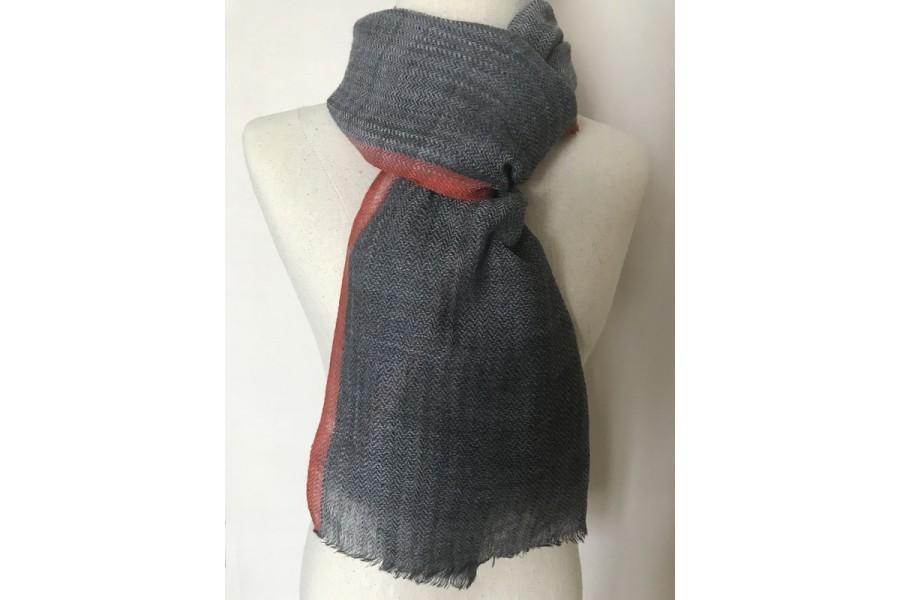 181b1cc99da Écharpe homme en laine style cachemire