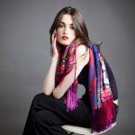 Entretien d'un foulard en soie