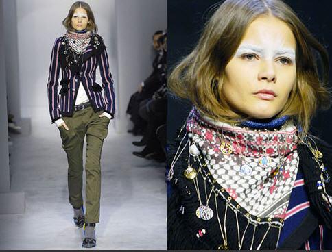 foulard keffieh