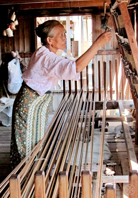 tissage artisanal soie naturelle