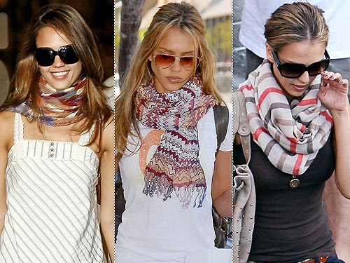 porter cheche en foulard