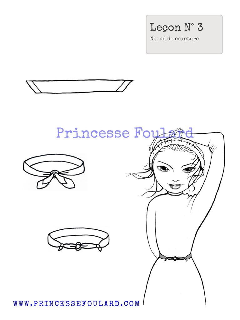 Comment porter et nouer son foulard en guise de ceinture ?
