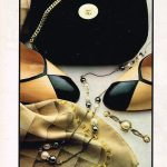 Foulard de marque Chanel