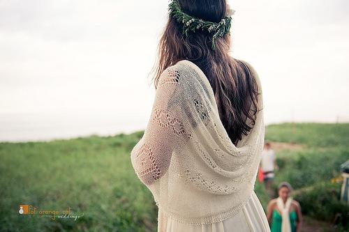 nouer foulard mariage