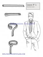 lecon numéro 1 : nœud de boucle pour homme