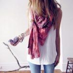 Enlever toutes les taches sur la soie tachée, détacher un foulard en soie