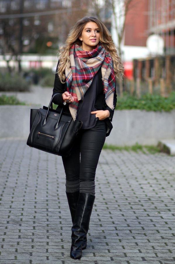 echarpe-femme-hiver