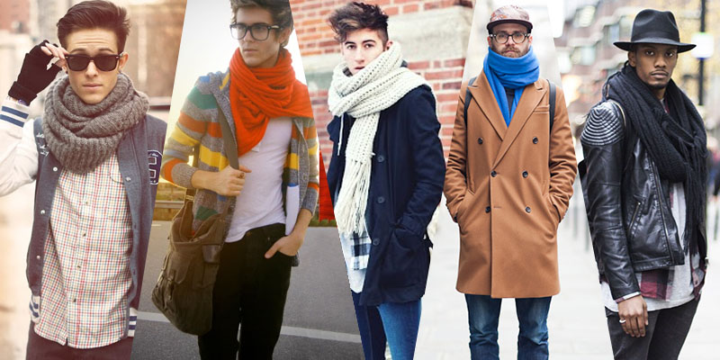 echarpe homme hiver