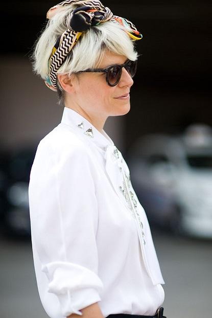 foulard chic femme