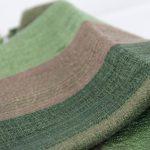 Foulard et écharpe vert, comment porter, marier, associer le vert ?