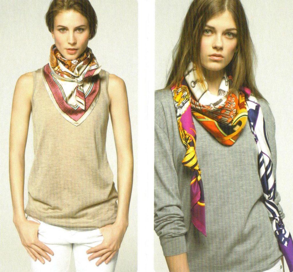 foulard en hiver