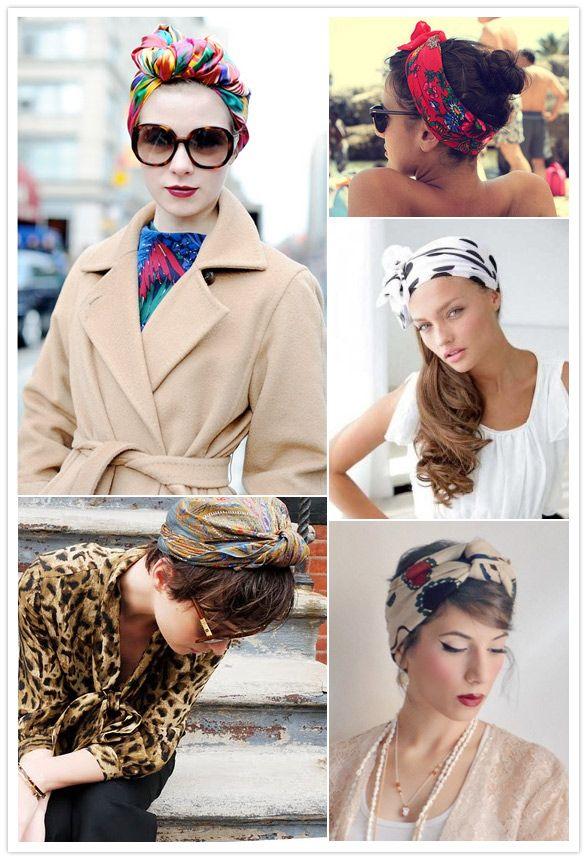 foulard en turban