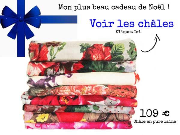 foulard pour maman cadeau noel