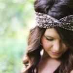 Turban en bandeau pour cheveux courts ou longs - tuto turban croisé