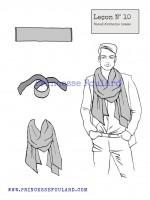 lecon numéro 10 : nœud d' echarpe