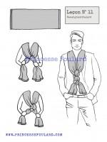lecon numéro 11 : nœud de foulard pour homme