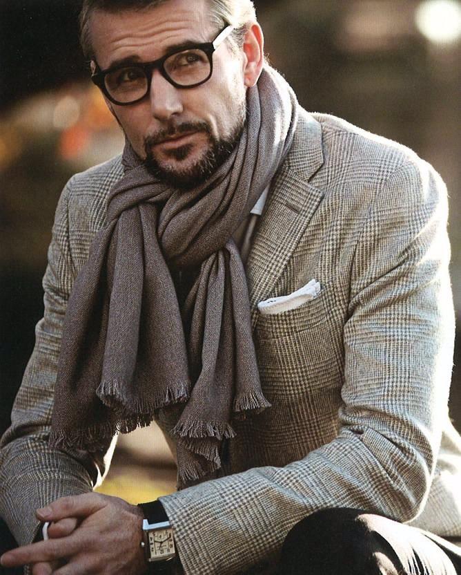 Exceptionnel Mettre et porter foulard avec une veste de costume GH38