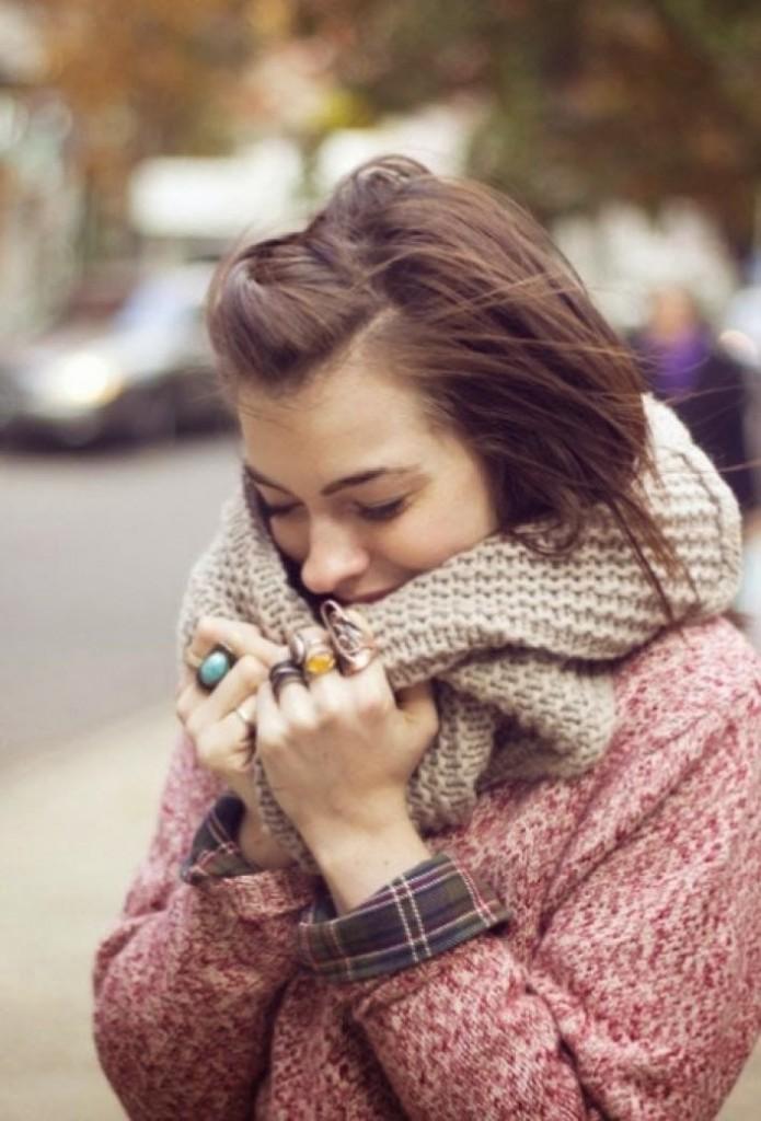 quel foulard en hiver