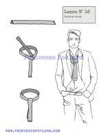 lecon numéro 16 : nœud de dandy pour homme