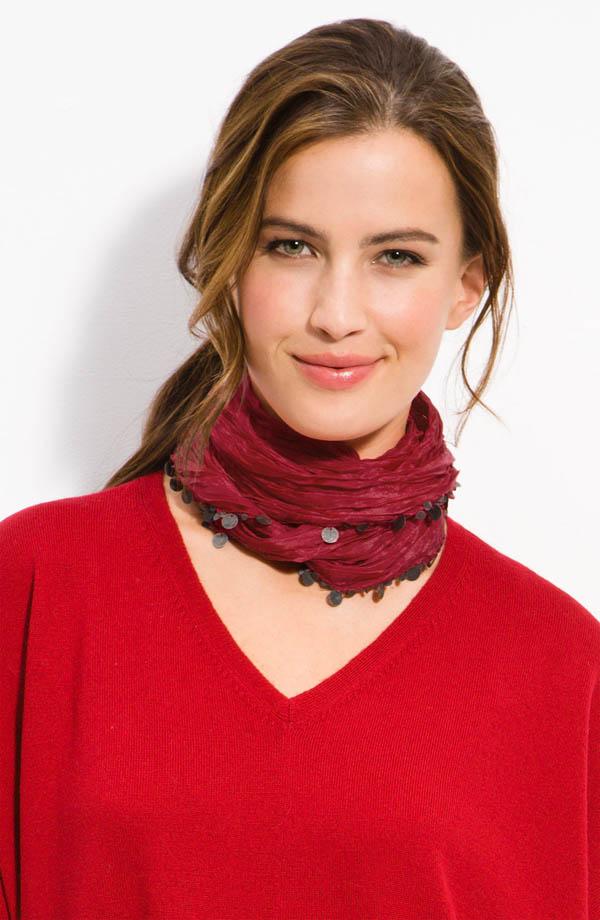 noeud foulard femme