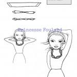 Comment porter, nouer, mettre son foulard collier ou en bijoux ?