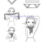 Noeud de foulard artistocrate ou bourgeois