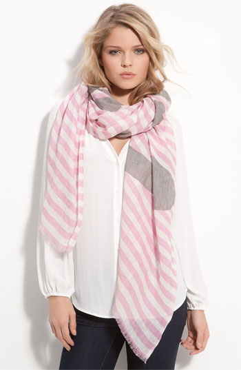 detacher foulard lin