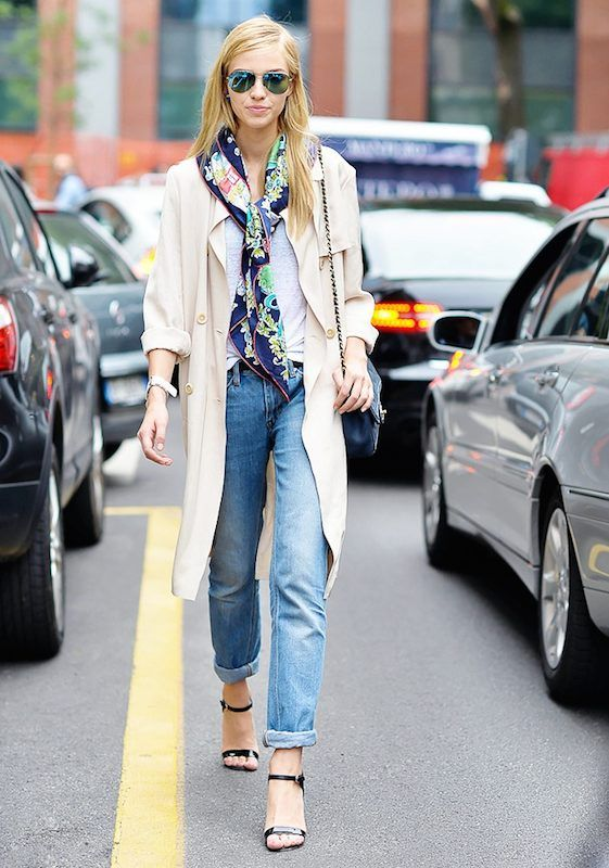 foulard en soie tendances mode