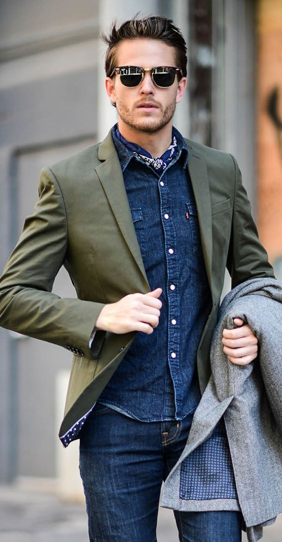 foulard homme tendance