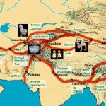 Nouvelle et ancienne route de la soie, itinéraire et carte du voyage