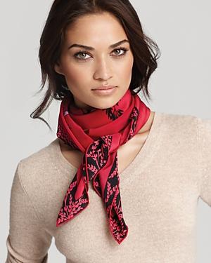 tendance foulard soie