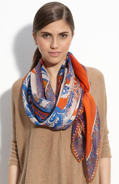 couleur foulard soie