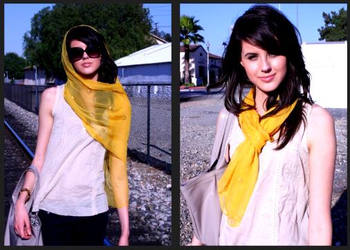 7cff1749dd14 ... saison les fluo canari sont à la mode. Vous verrez que le traditionnel  foulard en soie jaune moutarde quand à lui est depuis toujours un  intemporel.