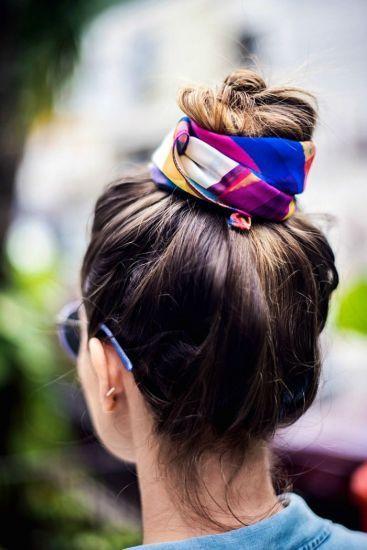 outlet à vendre de style élégant 100% authentique Foulard cheveux pour dormir en soie ou satin