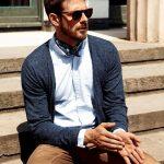 Comment s'habiller classe pour un homme avec un foulard ? idée look