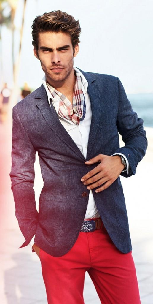 couleur foulard homme
