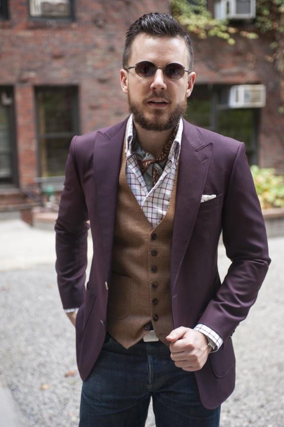 porter foulard carre homme