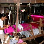 Foulard en soie thaïlandaise de Thaïlande