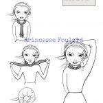 Comment porter, nouer un foulard en soie autour du cou ?