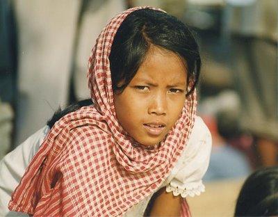 foulard krama cambodge