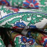 Foulard et écharpe couleurs tendance mode Printemps été 2014