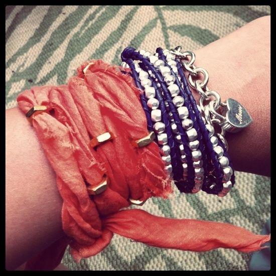 bracelet foulard