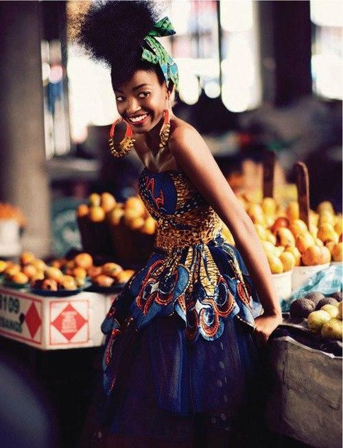 foulard africain