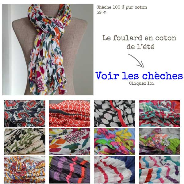 foulard cheche quelle couleur