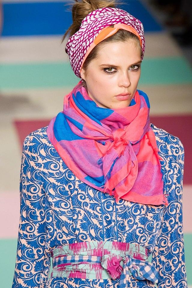 foulard chic hippie boheme