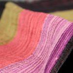 Foulard en pure soie artisanale naturelle fait main